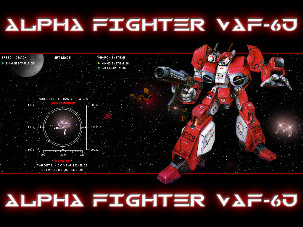 (321k) Alpha Fighter VAF-6J